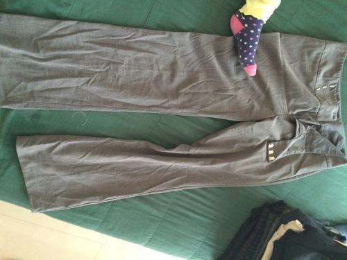 lotelore de 3 pantalones de vestir dama talla 11