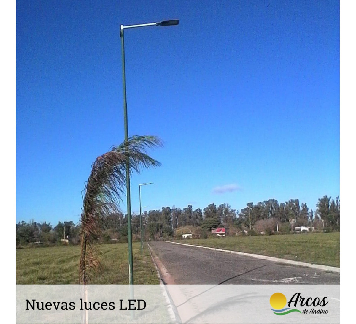 loteo arcos de andino - lote 300 mt2 - calle pafundi