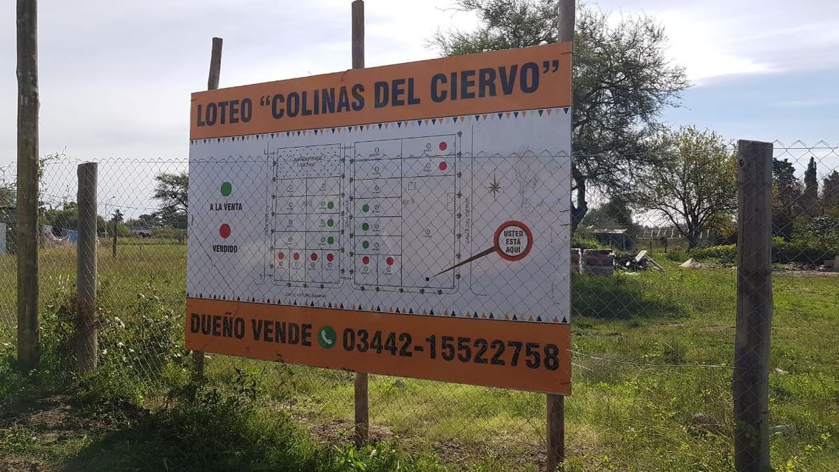loteo  colinas del ciervo  en concepción del uruguay. servic