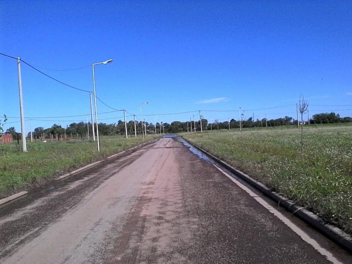 loteo costa ribera - timbues - esquina 326 mts2