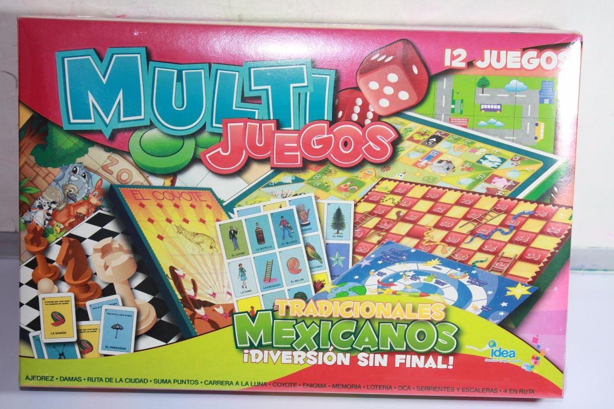 Loteria 12 Juegos Mexicanos Marca Idea Nuevo 190 00 En Mercado