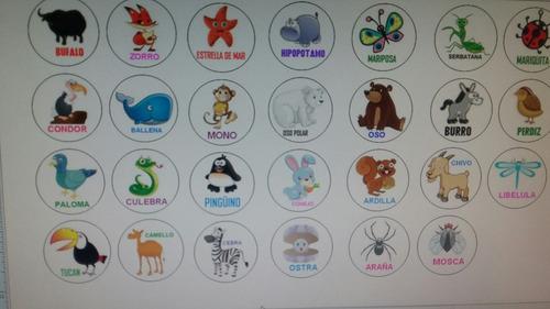 lotería de animalitos 78 fichas para imprimir