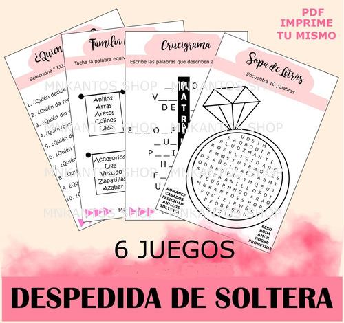 lotería despedida de soltera rosa 50 tablas kit imprimible