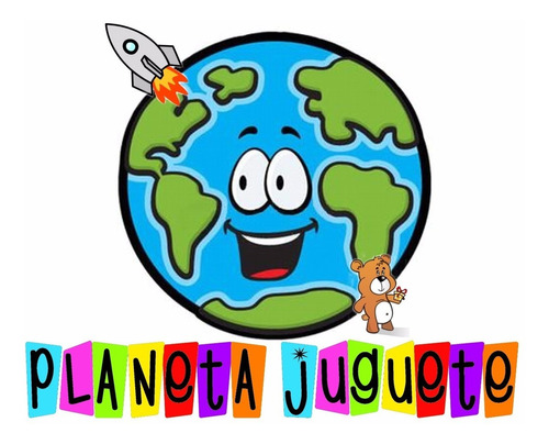 loteria infantil de madera gordillo figuras planeta juguete