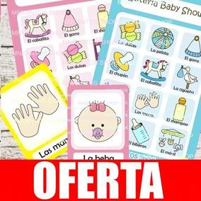 Loteria Para Baby Shower Con Juegos En Mercado Libre Mexico