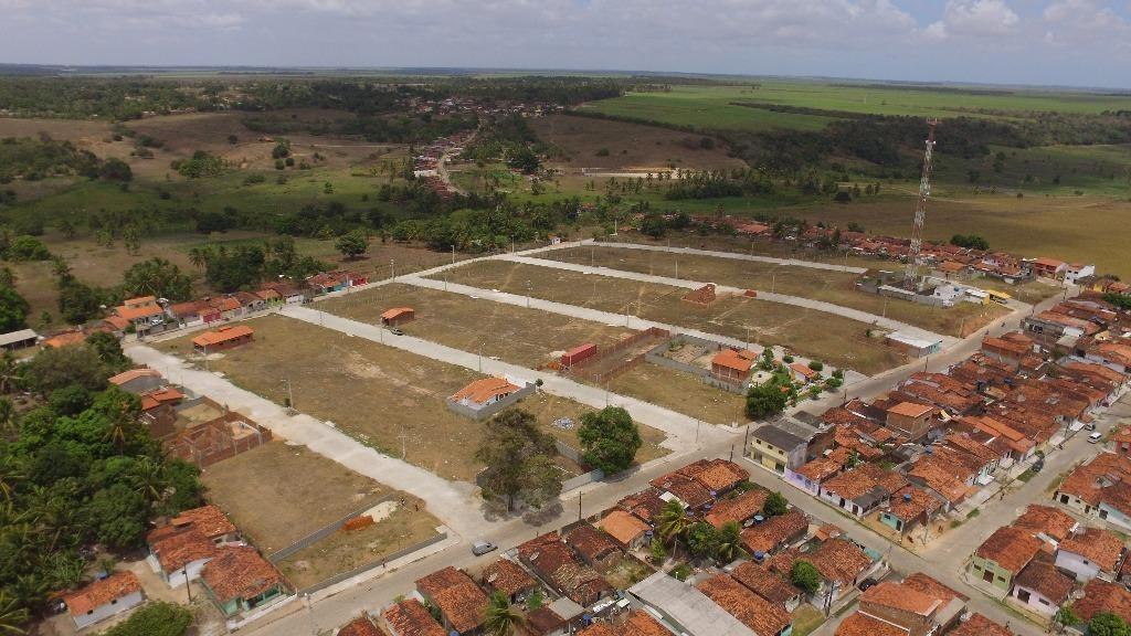 lotes a venda no loteamento villa dos ipês em canguaretama. prontos para construir, px ao centro da cidade, há 15min da praia - te0883