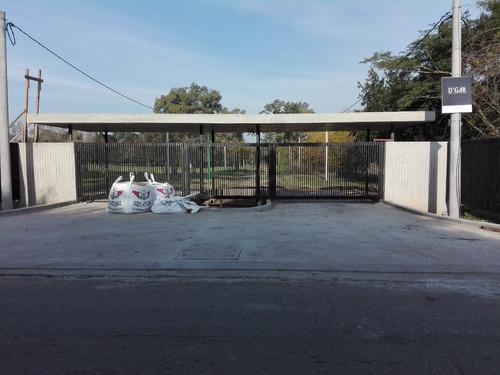 lotes barrio privado las alondras - 407 19 y 21 /villa elisa