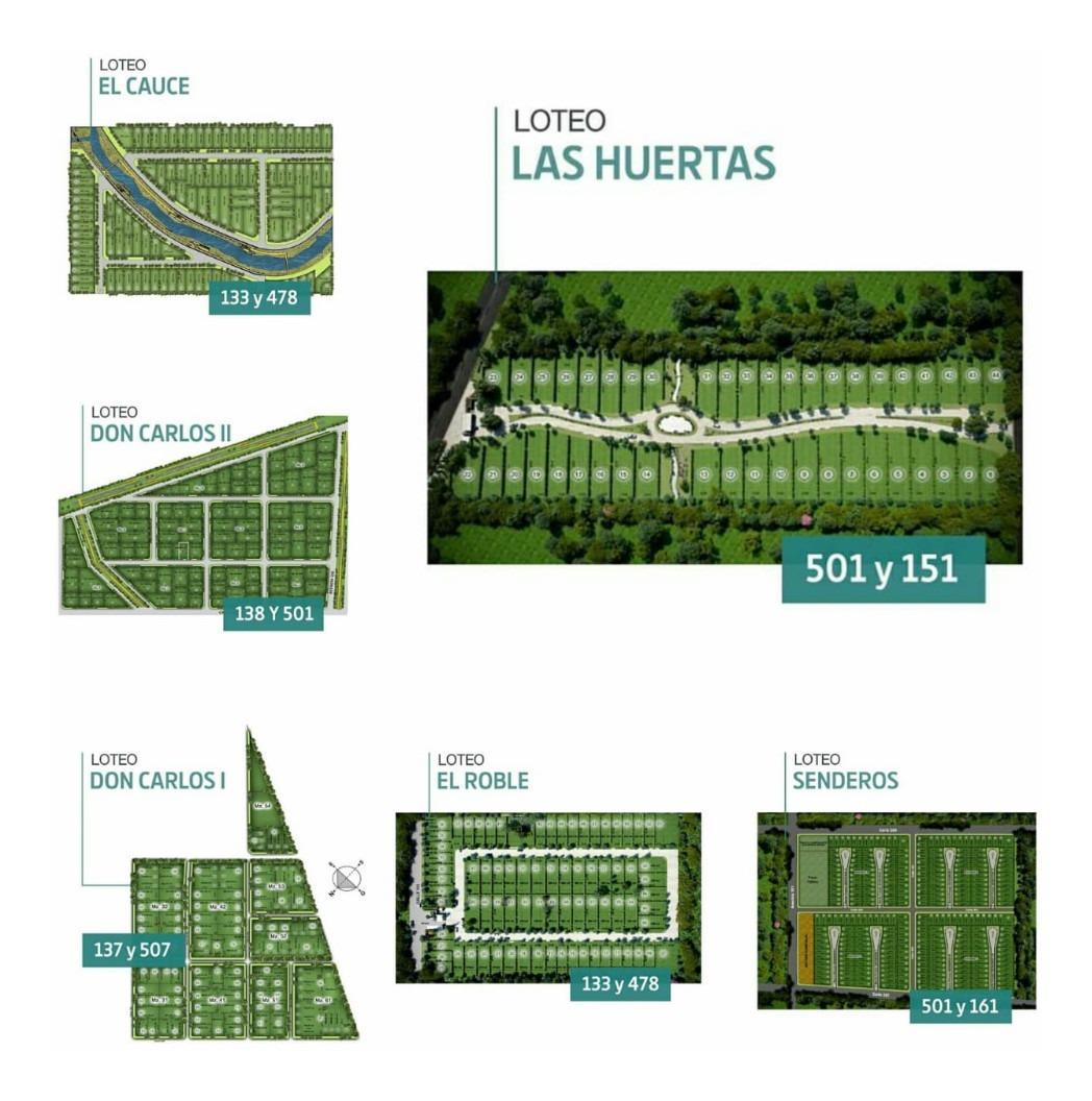lotes barrios abiertos - privados - gonnet - city bell - lp
