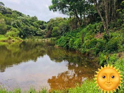 lotes com bosque e lago pra pesca não perca garanta o seu j