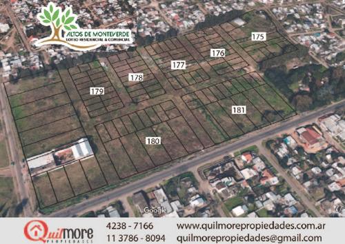 lotes cuota fija para vivienda en monteverde  zona sur