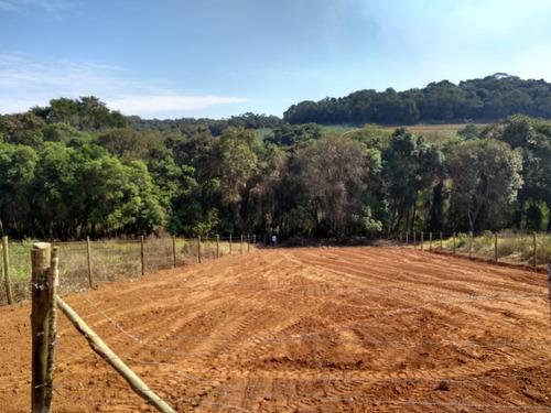 lotes de 1000 m2 pronto para construir 300 mtrs do asfalto j