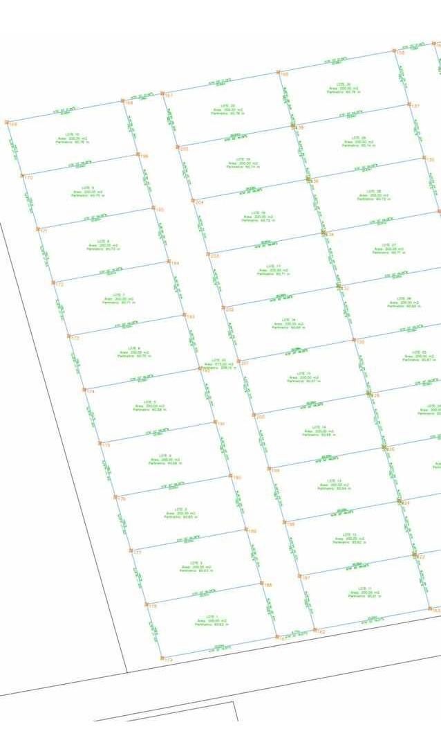 lotes de 200 metros cuadrados