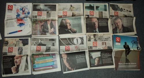 lotes de revista ñ clarin 2012 /en belgrano