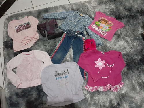 lotes de roupas de 4 anos 9 pecas