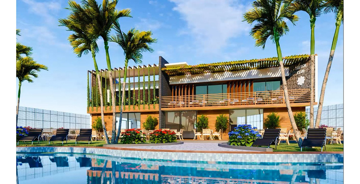 lotes de terreno 90m2 con piscina increible preventa