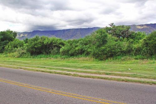 lotes en carpintería sobre ruta uno km 7 zona comercial nuev