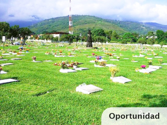 lotes en cementerio la inmaculada *triples* con servicios