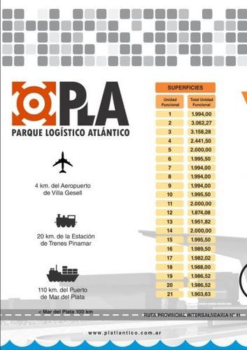 lotes en parque logistico atlantico