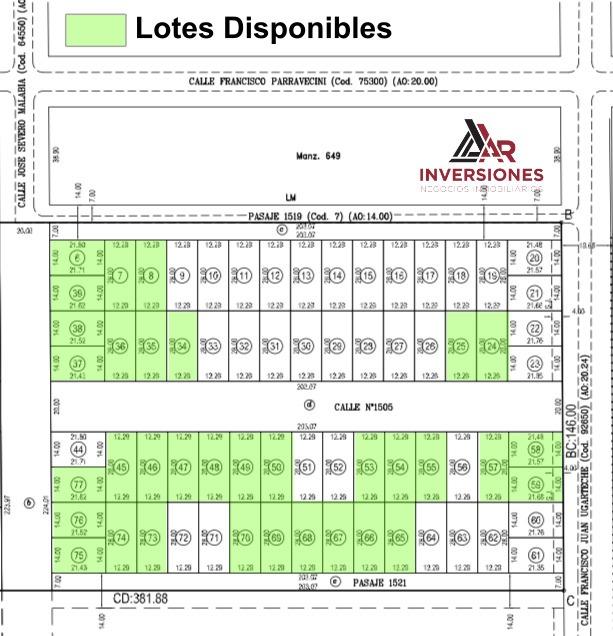 lotes en rosario - zona de alto valor residencial - servicios urbanos - eficiente accesibilidad