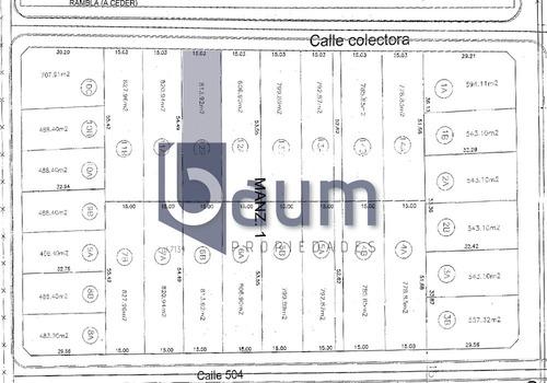 lotes en venta- calle 501 e/ 137 y 138-don alejandro