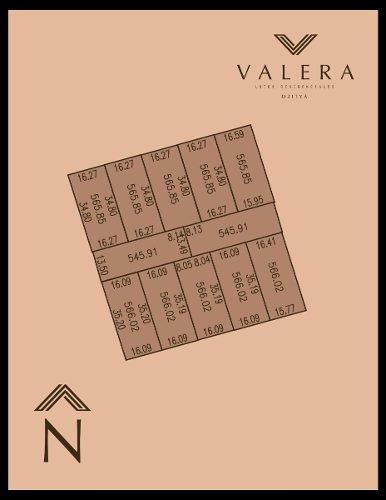 lotes en venta de 13.50 x 40 en valera residencial dzityá. urbanizados.