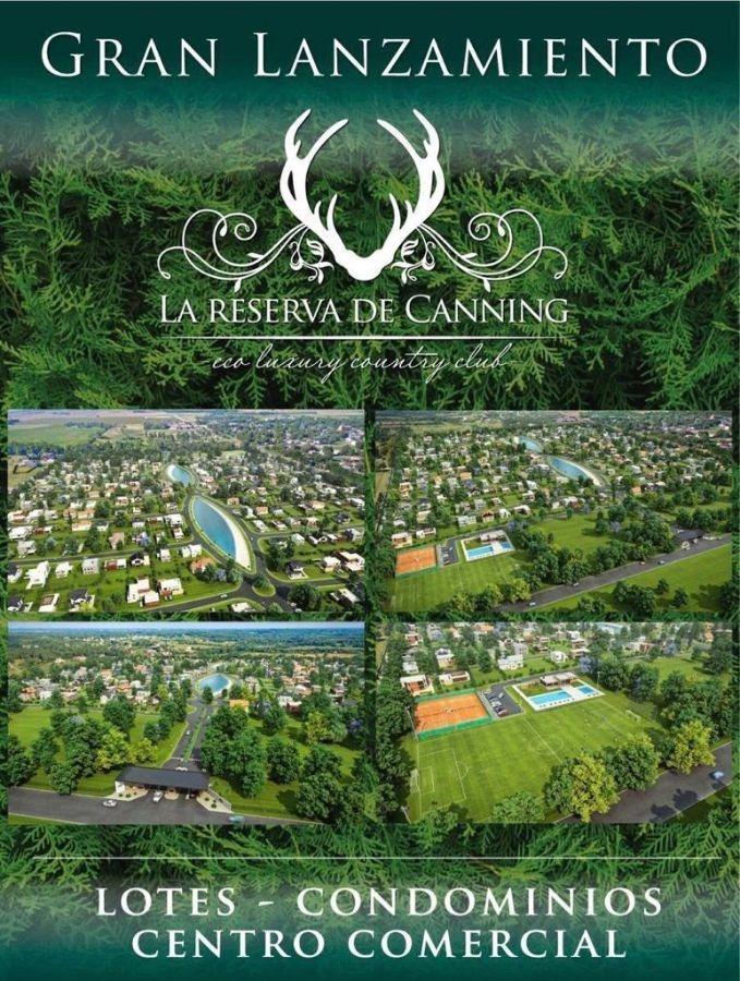 lotes en venta de 600m2 ubicados en la reserva de canning
