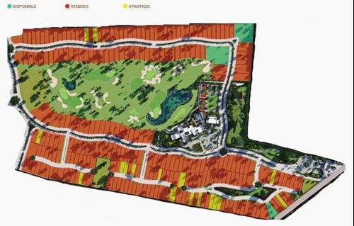 lotes en venta, merida, provincia ¡residencial y campo de golf!