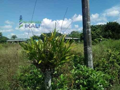 lotes en venta ubicados en la carretera federal tampico km. 7 en el municipio de tuxpan veracruz en la comunidad de higueral. son 4 lotes de 500 m² cada uno, la zona cuenta con energía eléctrica. los