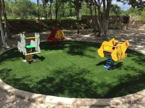 lotes frente a parque en privada kantara, dzidzilche
