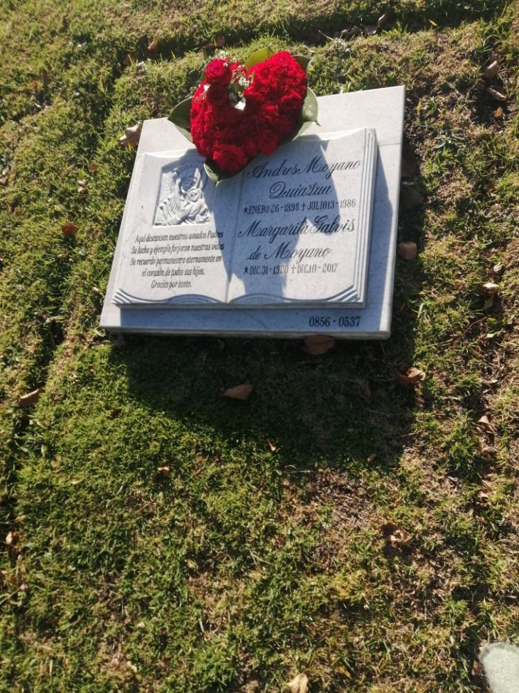 lotes funerarios presidenciales