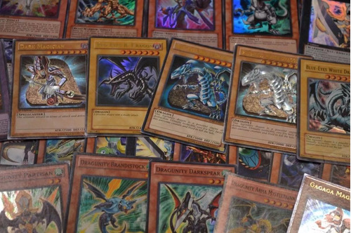 lotes grande de cartas yugioh originale al azar envio gratis