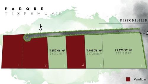 lotes industriales desde  3,600m2 en parque tixpehual