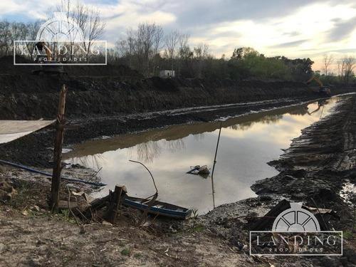 lotes laguna al rio dique luján villa la ñata barrio zona norte mz3