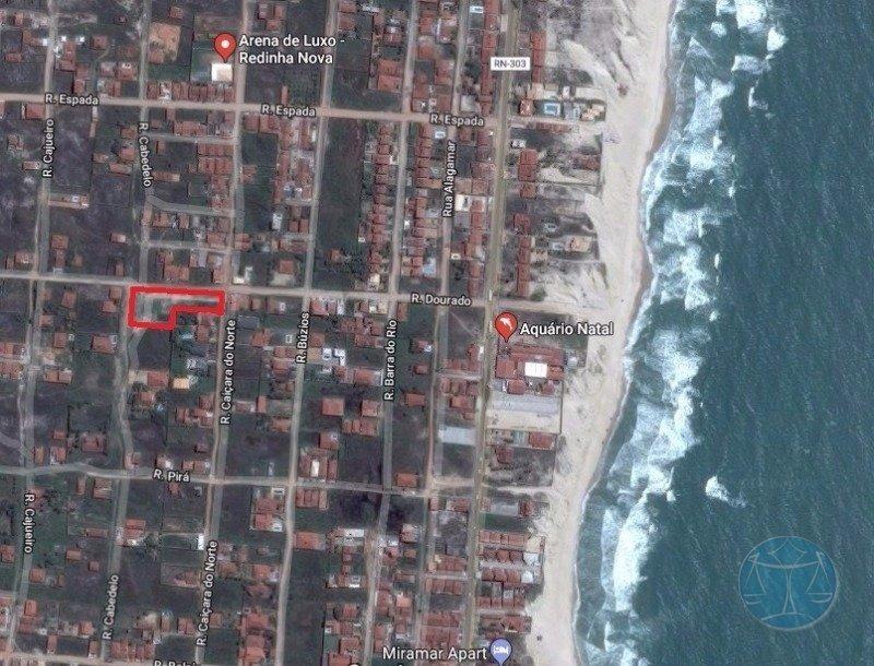 lotes na praia da redinha - v-9871