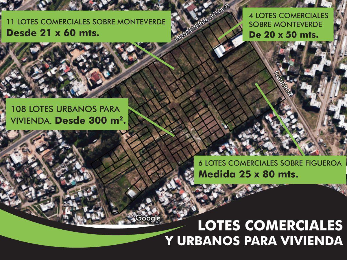 lotes para vivienda en av. monteverde  - 12x33