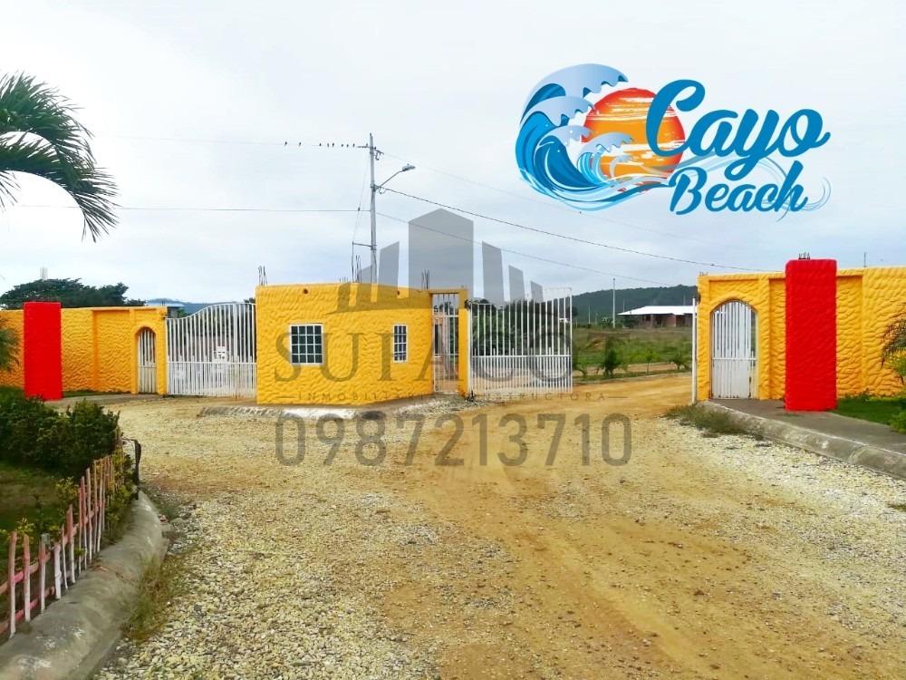lotes playeros de 200m2 a 5.700 usd en puerto cayo manabi