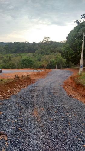 lotes prox do asfalto 1000 m2 plano demarcado 5 km represa j