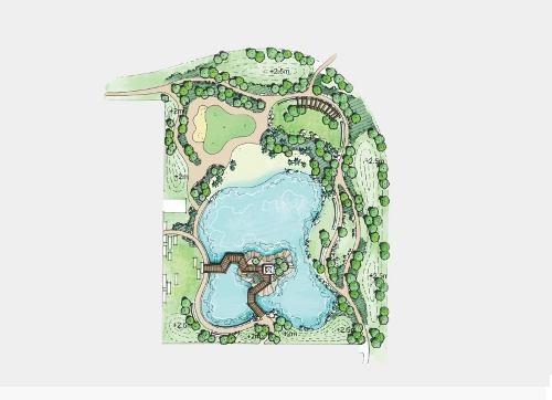 lotes residenciales con un espectacular lago central, en greta cittadela mérida.