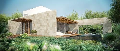 lotes residenciales del lujo playa del carmen cenote selva