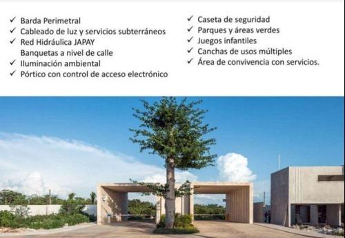 lotes residenciales dentro de la privada lunare, cholul, yucatán