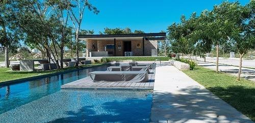 lotes residenciales en exclusiva privada en conkal