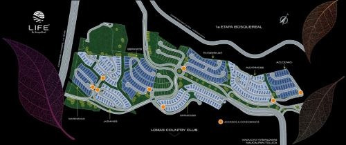 lotes residenciales en preventa life jazmines bosque real country club