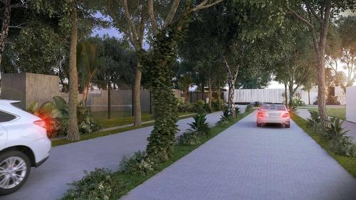 lotes residenciales en privada kinish con amenidades