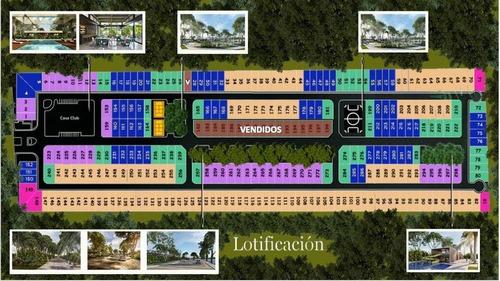 lotes residenciales en venta en privada con amenidades, tamora, conkal, mérida