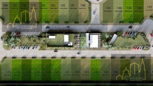 lotes residenciales en venta en privada entre parques, merida