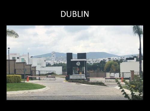 lotes residenciales en venta lomas de angelópolis ii parque dublín