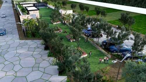 lotes residenciales  entre parques