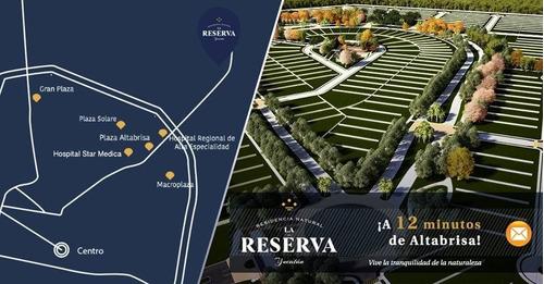 lotes residenciales, privada la reserva conkal.