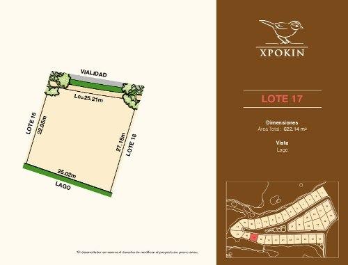 lotes residenciales privada xpokin, vista al lago, en el yucatán country club.