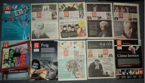 lotes revista ñ clarin 2006 2007 2009 2010 / en belgrano